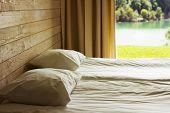 Relaxing Bedroom With Huge Window