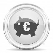 piggy bank internet icon