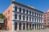 Historic Pico House In Los Angeles, California