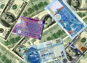Background. Us Dollars And Hk Dollars