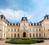 Potocki Palace In Lviv, Ukraine. Currently - Lviv National Art Gallery