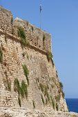 Fortress Of Fortezza In Rethymno. Crete. Greece