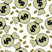 Money Bags Pattern.