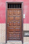 Historic Wooden Door