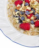 Steel Cut Oats, Berries, And Nuts
