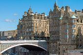 The North Bridge in Edinburgh