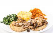 Pork Loins With Sauteed Mushrooms