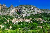 stock photo of mary  - Moustiers Sainte Marie  - JPG
