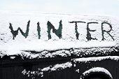 Snowed Car In Winter