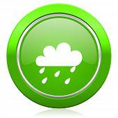 rain icon waether forecast sign