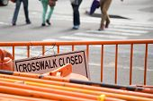 Crosswalk Closed