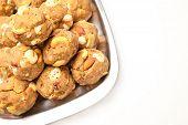 Indian homemade sweet laddoo
