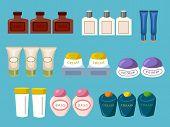 Cosmetic Bottles Packaging Set