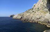 Rocks On The Coast. Crimea.