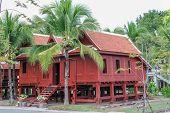 Thai wooden house, Thailand.