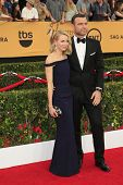 LOS ANGELES - JAN 25:  Naomi Watts, Liev Schreiber at the 2015 Screen Actor Guild Awards at the Shrine Auditorium on January 25, 2015 in Los Angeles, CA