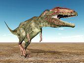 Dinosaur Giganotosaurus