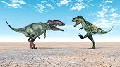 Giganotosaurus and Bistahieversor