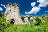 Castle Ruins In Sidoriv
