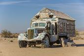 Bible Truck Outsider Art Installation
