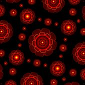 Futuristic Style Abstract Pattern