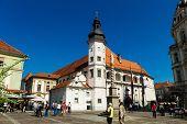 cityscape of maribor, marburg, tourist destination in slovenia, europe