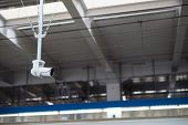 picture of inappropriate  - Security CCTV monitor inappropriate behavior in public area - JPG