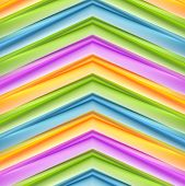 Abstract colorful stripes background. Vector design
