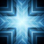 Abstract blue technology background. Vector design