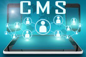 stock photo of social system  - CMS  - JPG