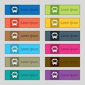 image of bus driver  - Bus icon sign - JPG