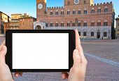 picture of piazza  - travel concept  - JPG