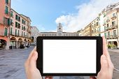 stock photo of piazza  - travel concept  - JPG