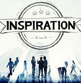 stock photo of motivation talk  - Inspiration Motivation Mission Goal Believe Concept - JPG