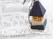 stock photo of household  - household expenses - JPG