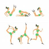 picture of yoga silhouette  - Vector yoga illustration - JPG