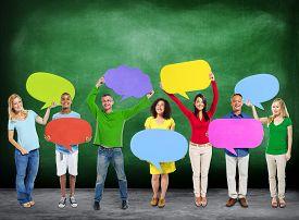 image of globalization  - Diversity Ethnicity Global Community Communication People Concept - JPG