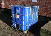 Bulk Industrial Liquid Chemical Container