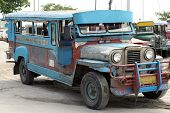 Jeepney agredida