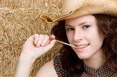 Redhead Cowgirl
