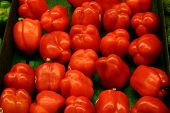Red Bell Peppers poster
