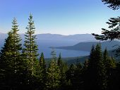 A View Of Lake Tahoe, Nevada.
