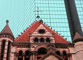 Old And New, Boston, Massachusetts