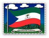 Постер, плакат: Марка Экваториальная Гвинея