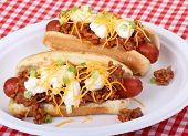 Chile Hot Dogs