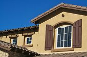 New Stucco Home & Windows