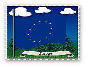 Stamp Europe poster
