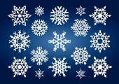 Copos de nieve (Vector o Xxl Jpeg Image)