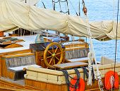 Sailship Wheelhouse