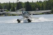 stock photo of hydroplanes  - photo token in Canada to a hydroplane in june 2007 with D200 digital camera - JPG